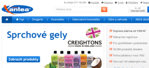 Drogerie Xantea.cz - online marketing